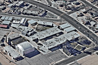 affordable aerial photography high desert industrial complex hesperia ca